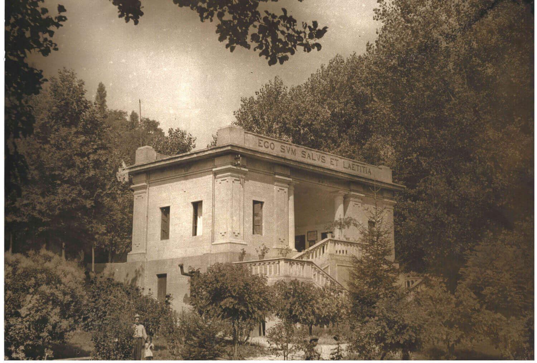 Il Parco delle Terme di Sarnano - La Storia