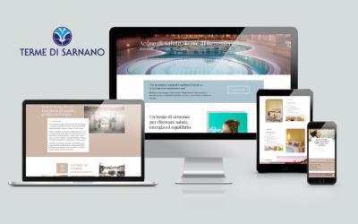 Il nuovo sito web delle Terme di Sarnano