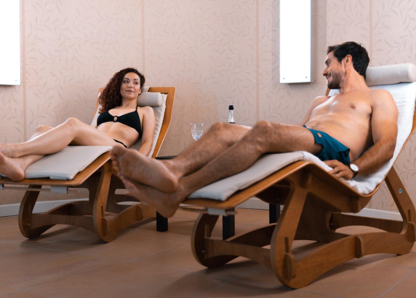 Sala Relax - SPA delle Terme di Sarnano
