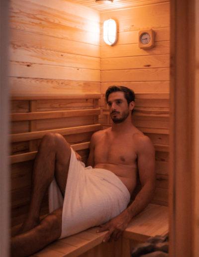 Sauna - SPA delle Terme di Sarnano
